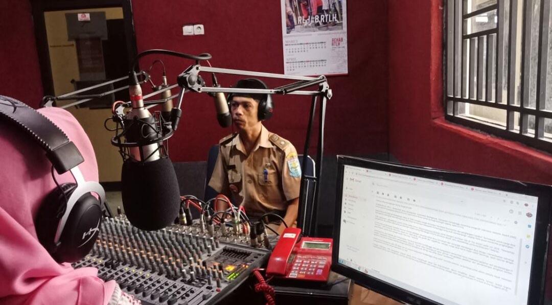 Talkshow Kepala Desa Karanganyar di LPPL Gema Soedirman